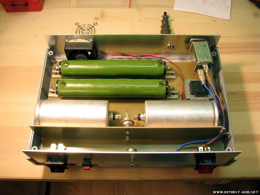 Стабилизатор для вентилятора схема