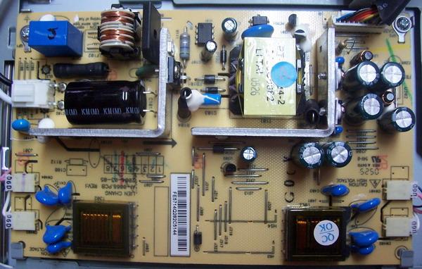 Блок питания монитора lg ремонт своими руками